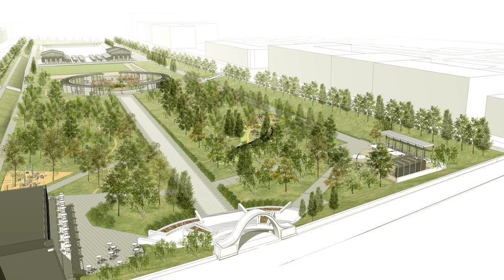 Обновленный парк откроется в конце 2017 года