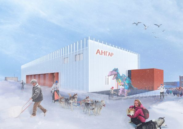 Development of a concept for an innovative public space in Anadyr, Chukotka Autonomous Region
