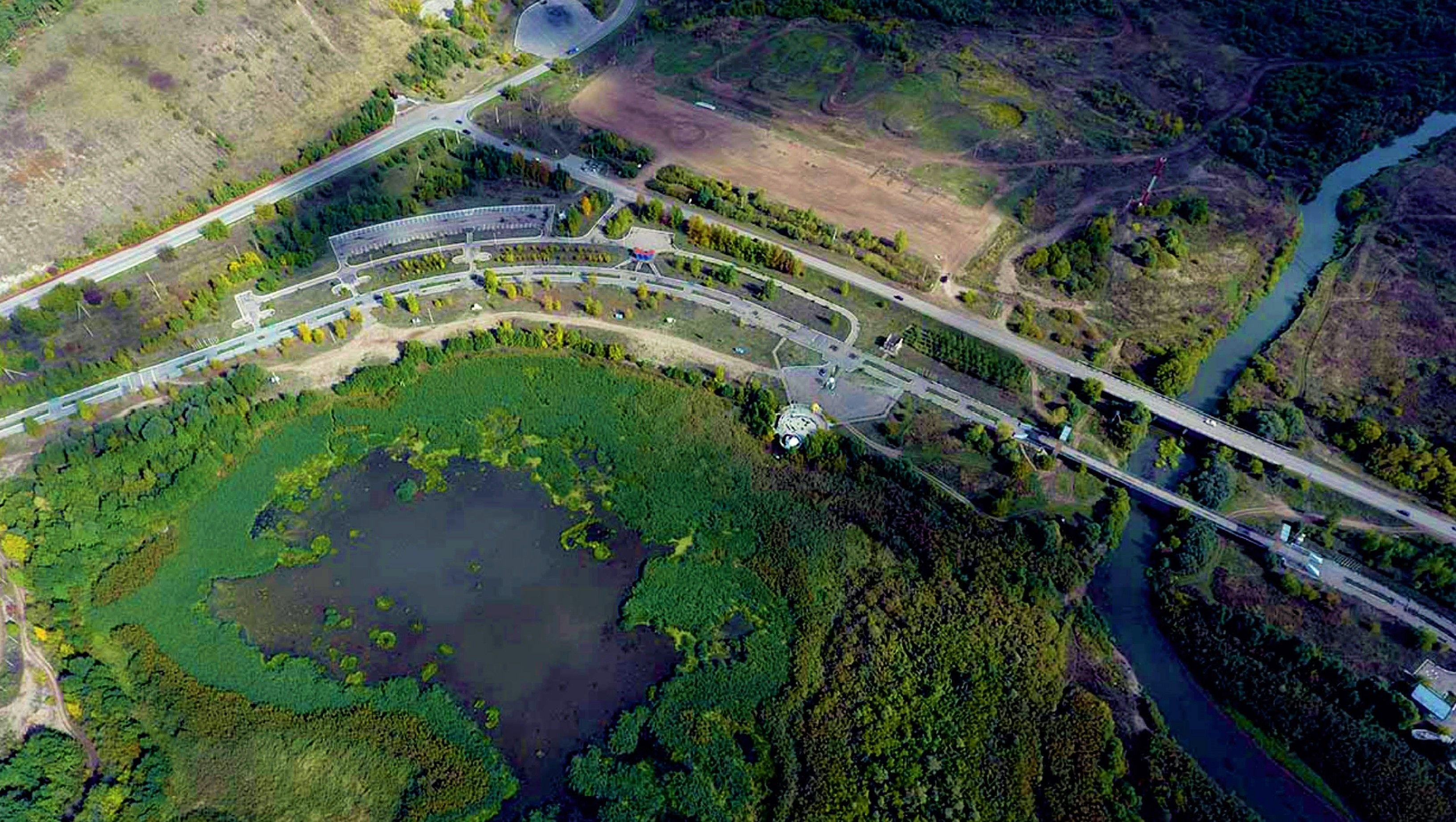The Open International Architectural and Urban Planning Competition for the development of a master plan for the territory adjacent to the Almetyevsk reservoir on the Stepnoy Zay river