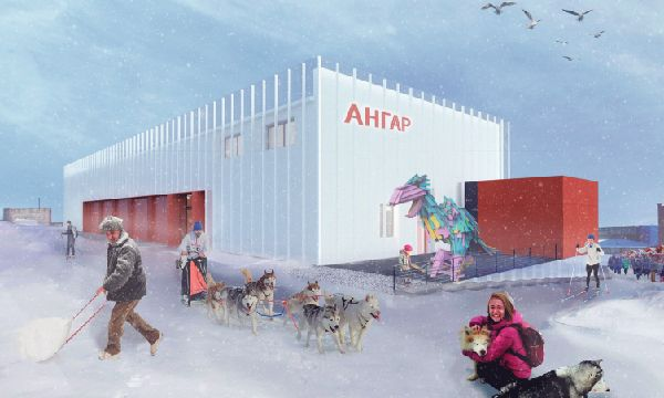 Сoncept for an innovative public space in Anadyr, Chukotka Autonomous Region