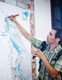 Общественное обсуждение набережных системы озёр Кабан