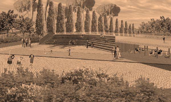 Разработка концепции парка культуры и отдыха имени Н.Д.Томина,расположенного в центральной части г.Троицка, Челябинская область