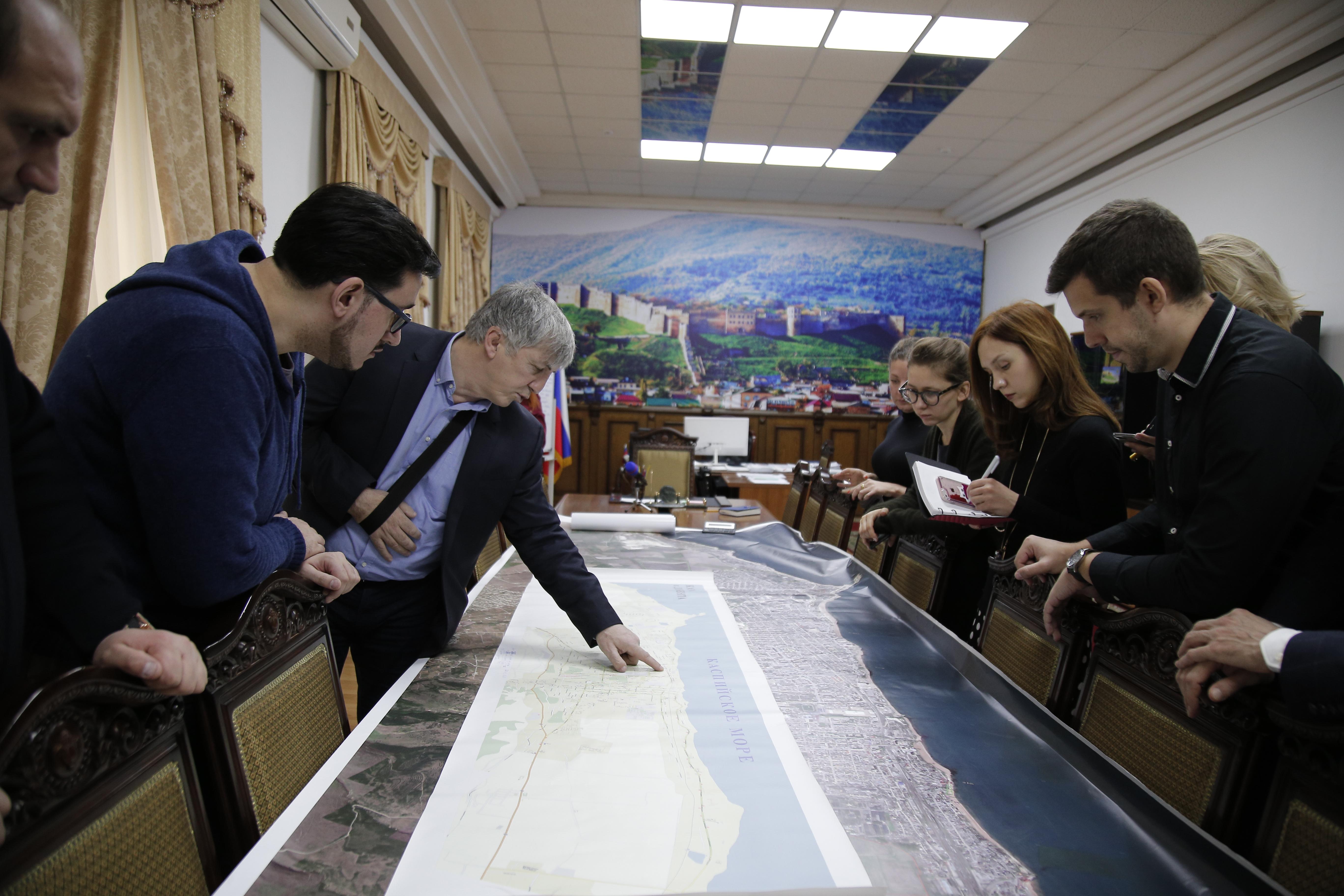 В Дербенте начали разрабатывать мастер-план развития города на период 2020-2040 гг.