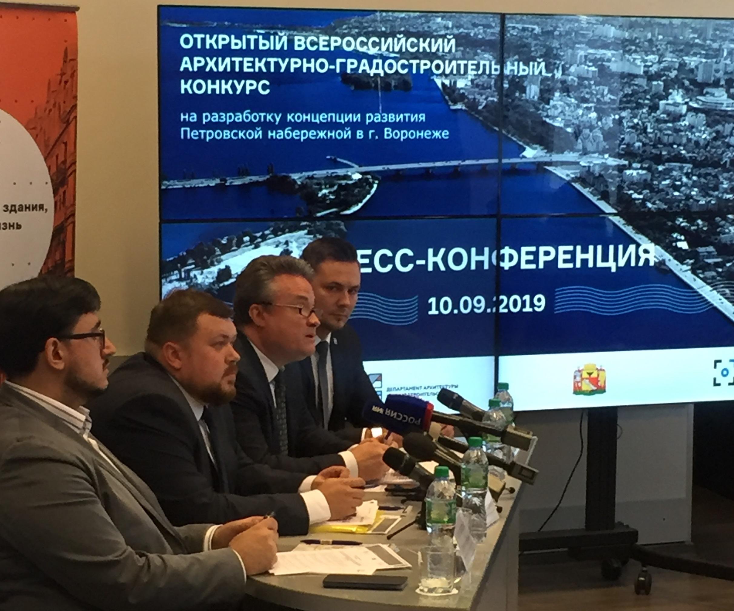 Петровская набережная станет одним из главных общественных пространств Воронежа