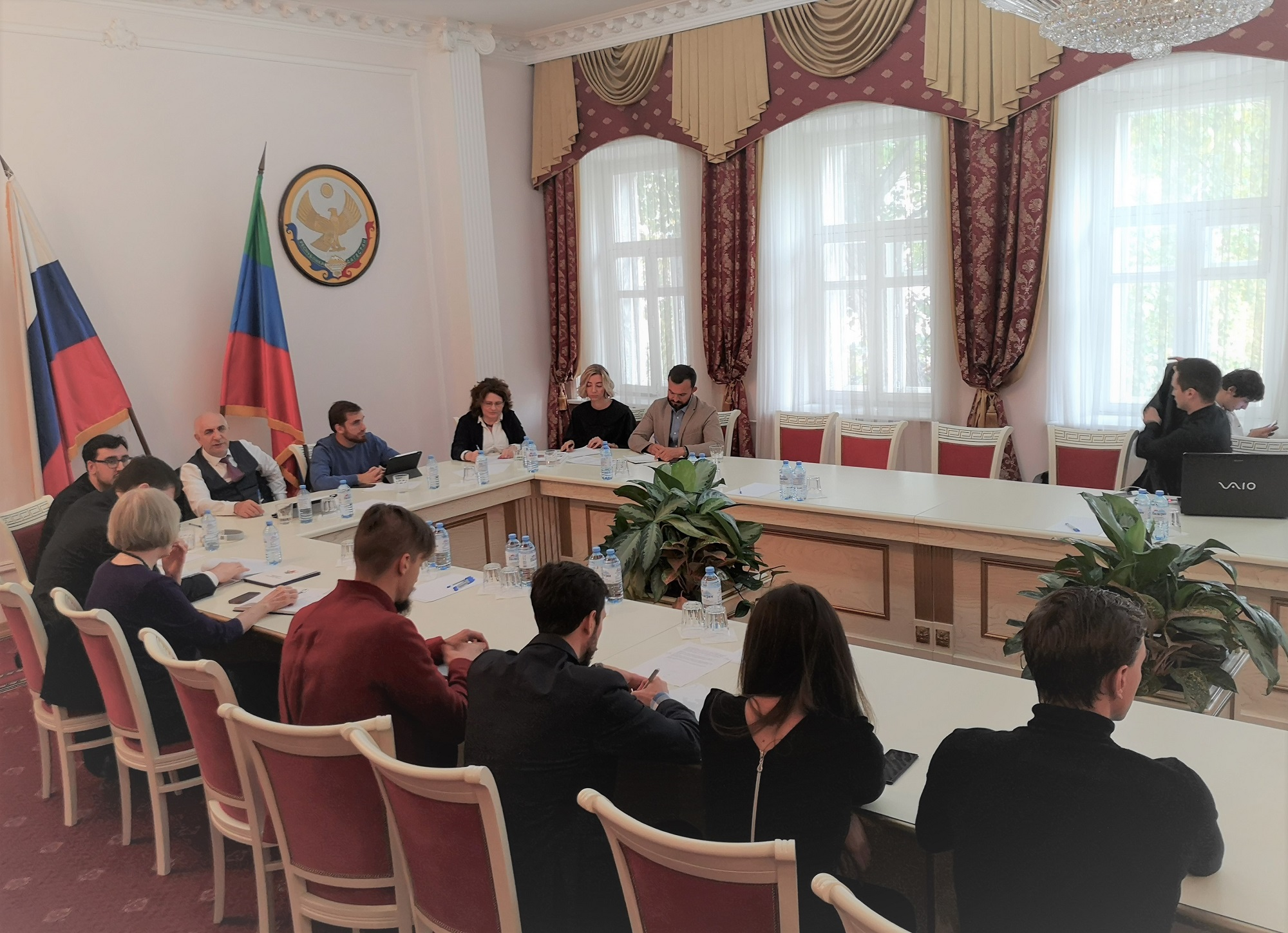The Permanent Mission of the Republic of Dagestan hosted a preliminary presentation of the finalists' projects