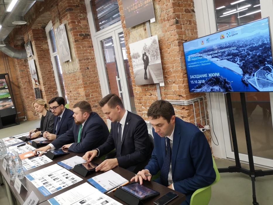В Воронеже объявлены финалисты конкурса на разработку концепции развития территории Петровской набережной