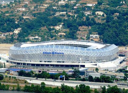 Стадион Альянц Ривьера, Ницца, Франция