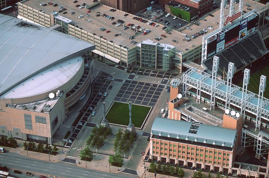 Спортивный комплекс «Кливлендские Ворота», Кливленд, США
