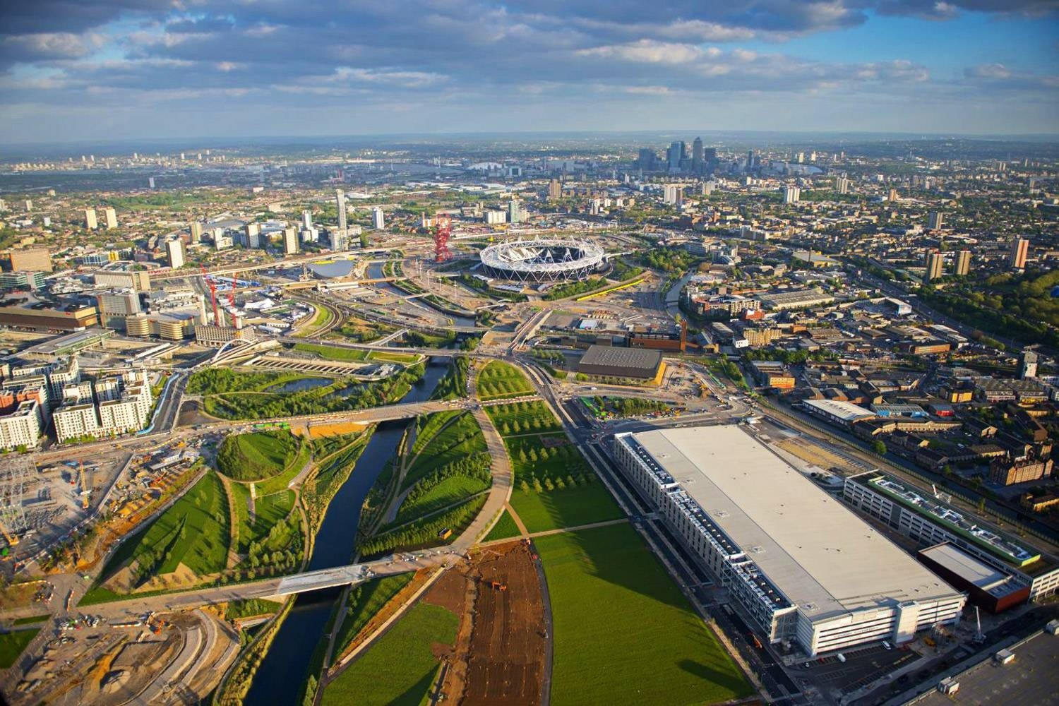 Queen Elizabeth Olympic Park, London, UK