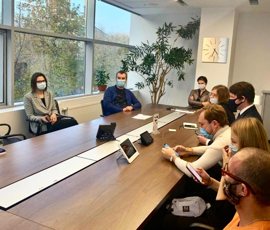 RUSAL representatives met with the competition finalists in Moscow