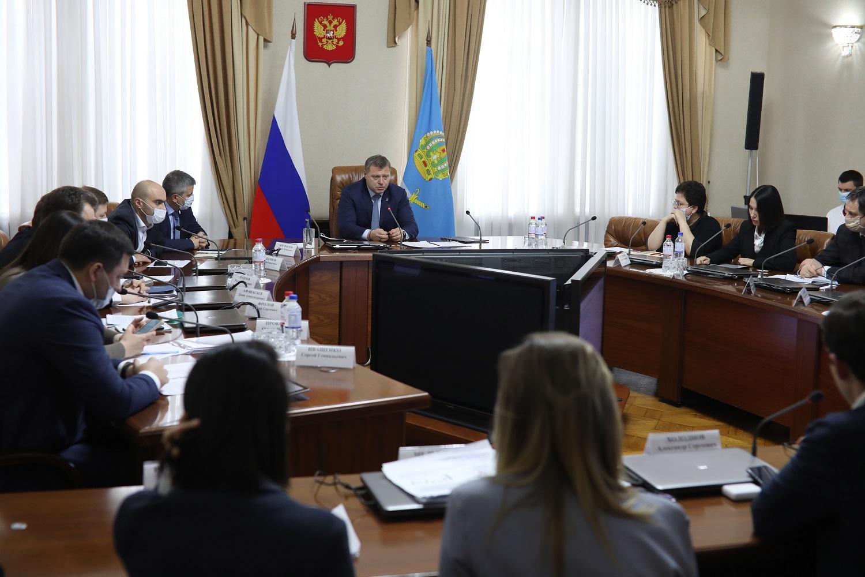 Состоялась рабочая встреча губернатора Астраханской области с экспертами Агентства «ЦЕНТР»