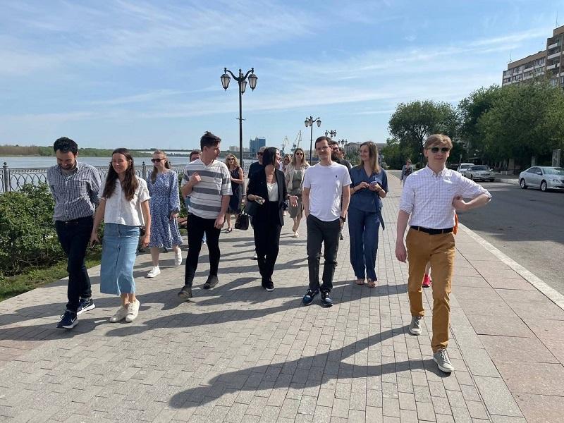 В Астрахани состоялся первый день установочного семинара для финалистов конкурса