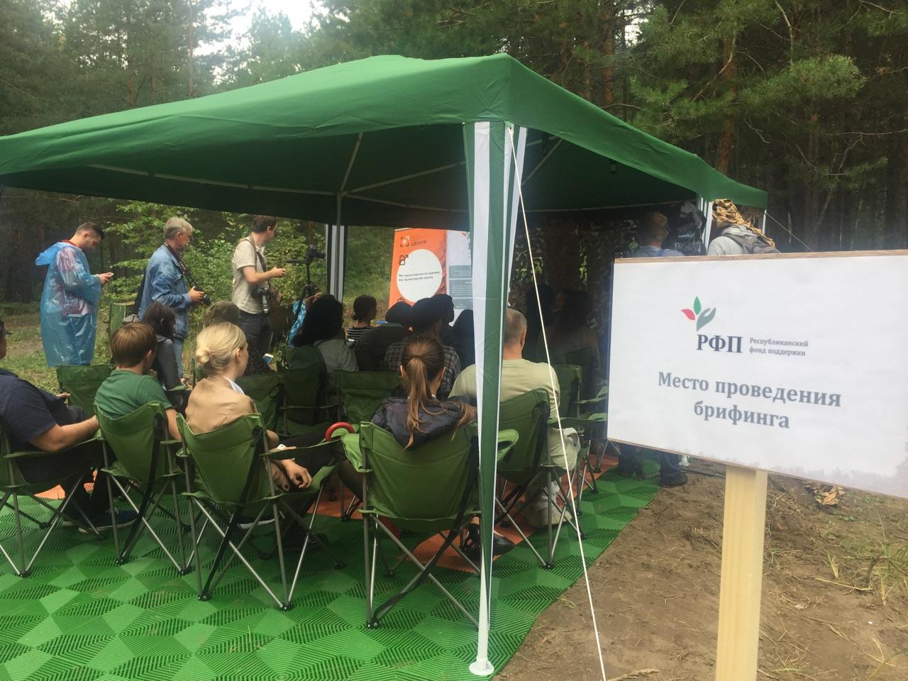 Казанские журналисты посетили территорию будущего экорайона