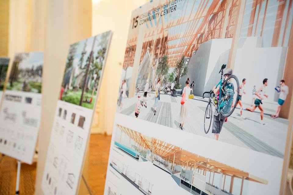 Projects of the finalists now exhibited in BFFT.space