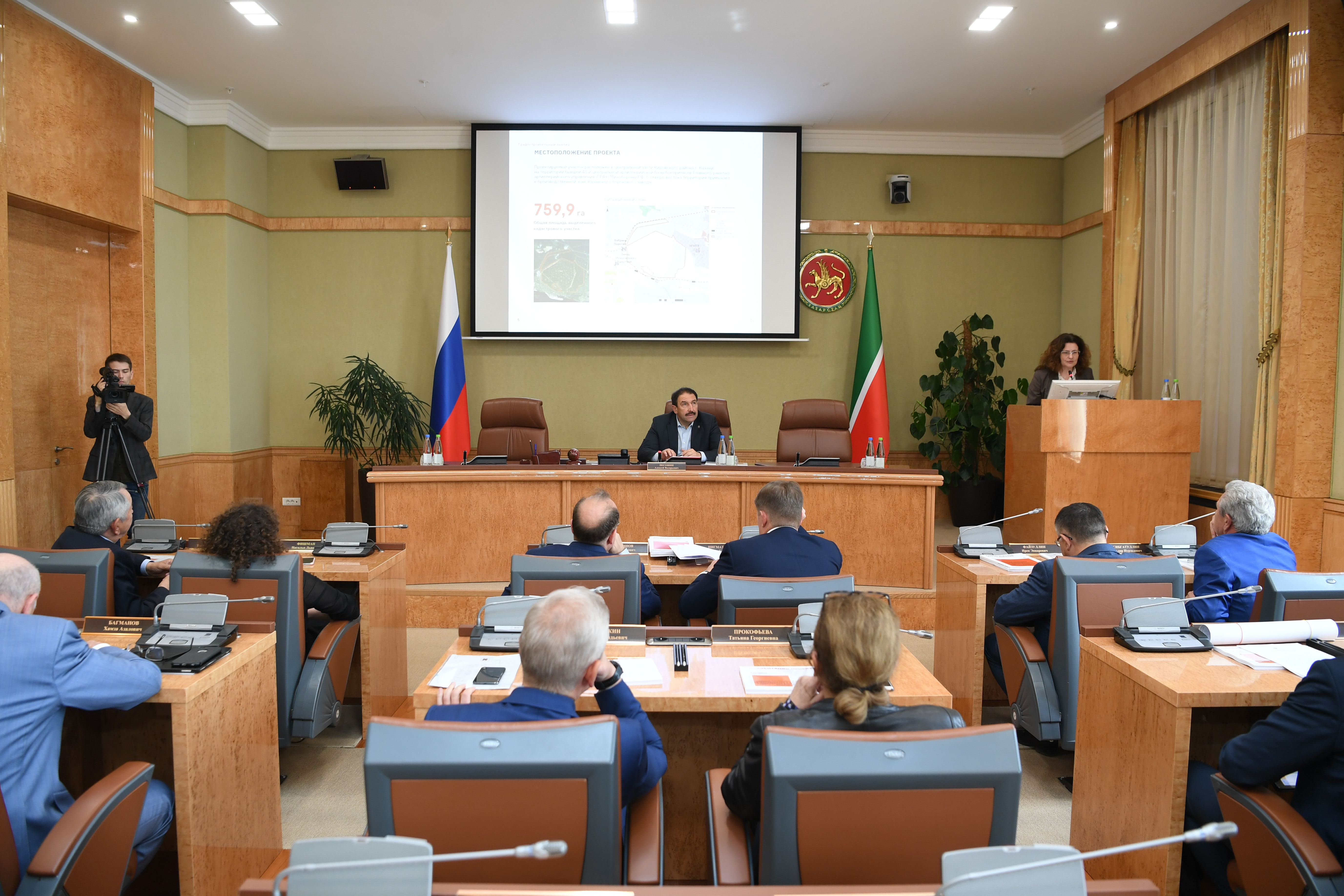 Руководство Республики Татарстан поддержало стратегию развития первого в Казани экорайона